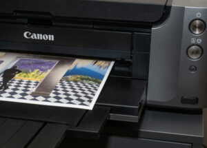Printing an art print